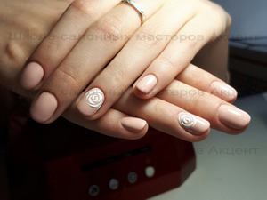 Дизайн Ногтей Белый С Блестками